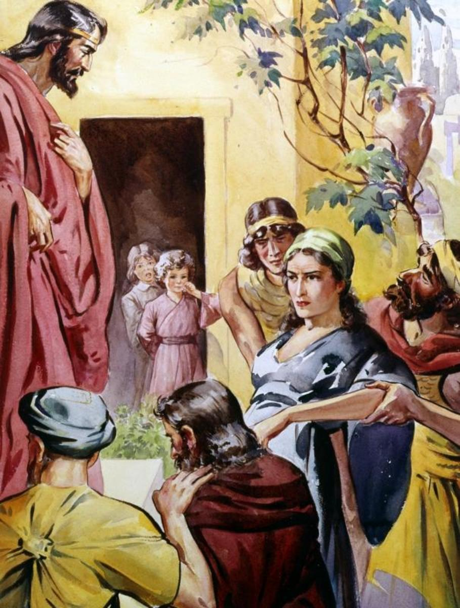 """""""Saul made havoc of the church, entering every house and dragging off men and women, committing them to prison"""" (Acts 8:3)."""