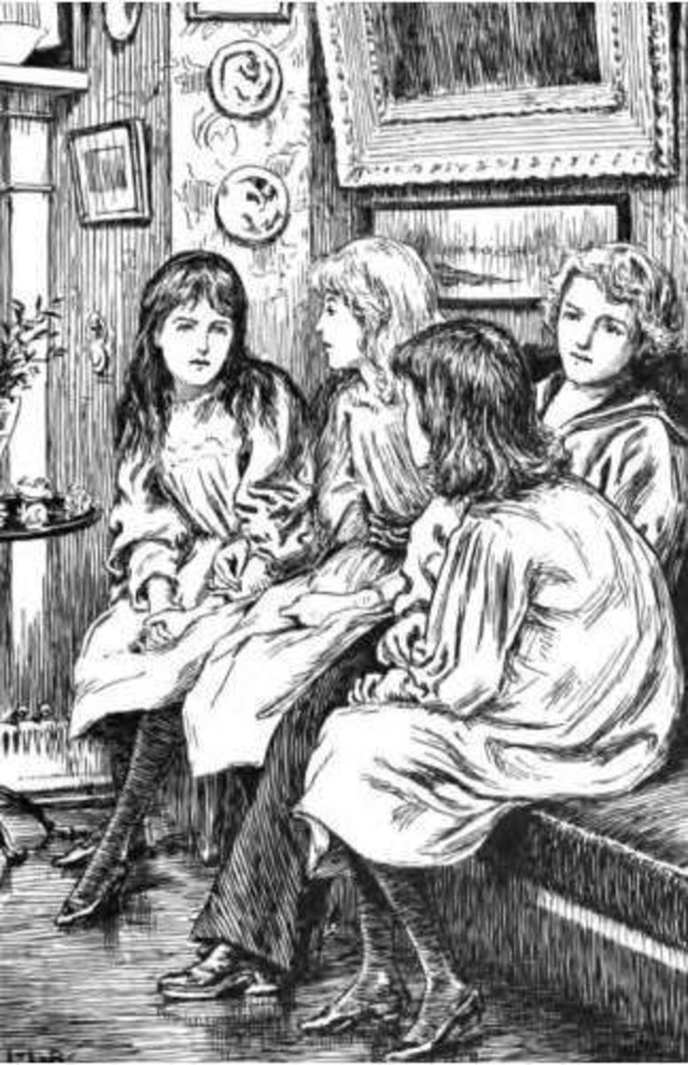 The Girls and I, illustration by Leslie Brooke