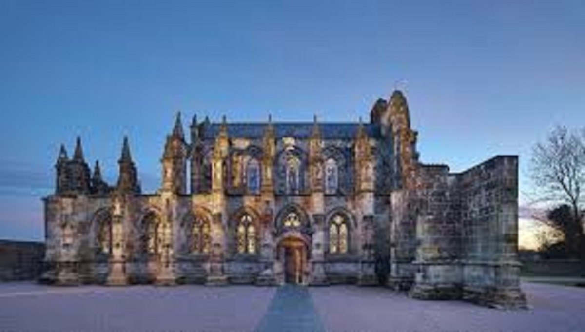 Many believe this mystery ends here in Scotland's famous Rosslyn Chapel.