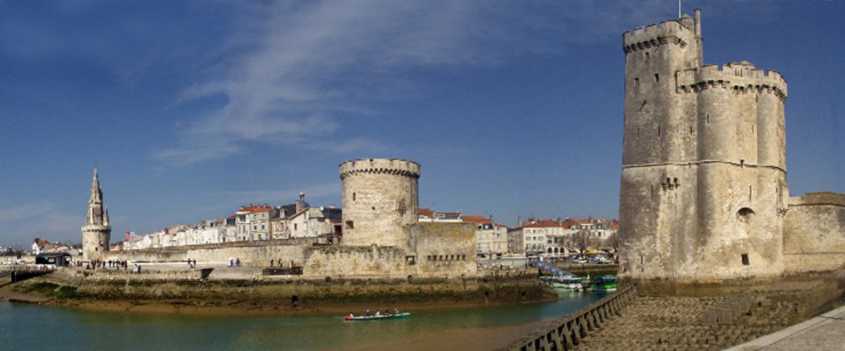 La Rochelle as it is today.