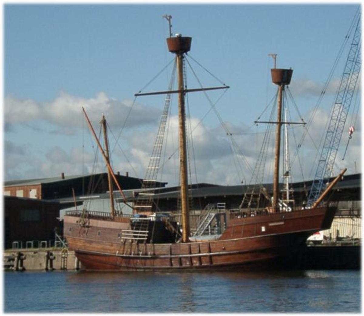 Did Templar treasure sail away on a similar vessel to this?