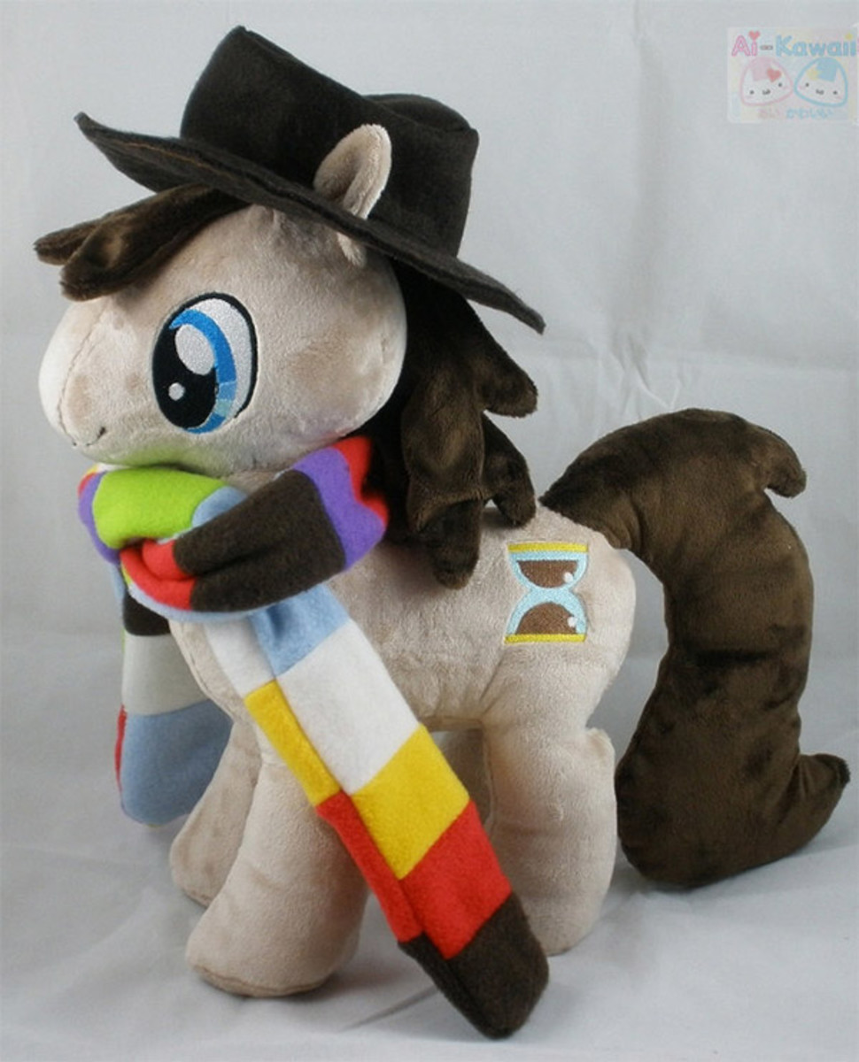 A Dr Who inspired pony.