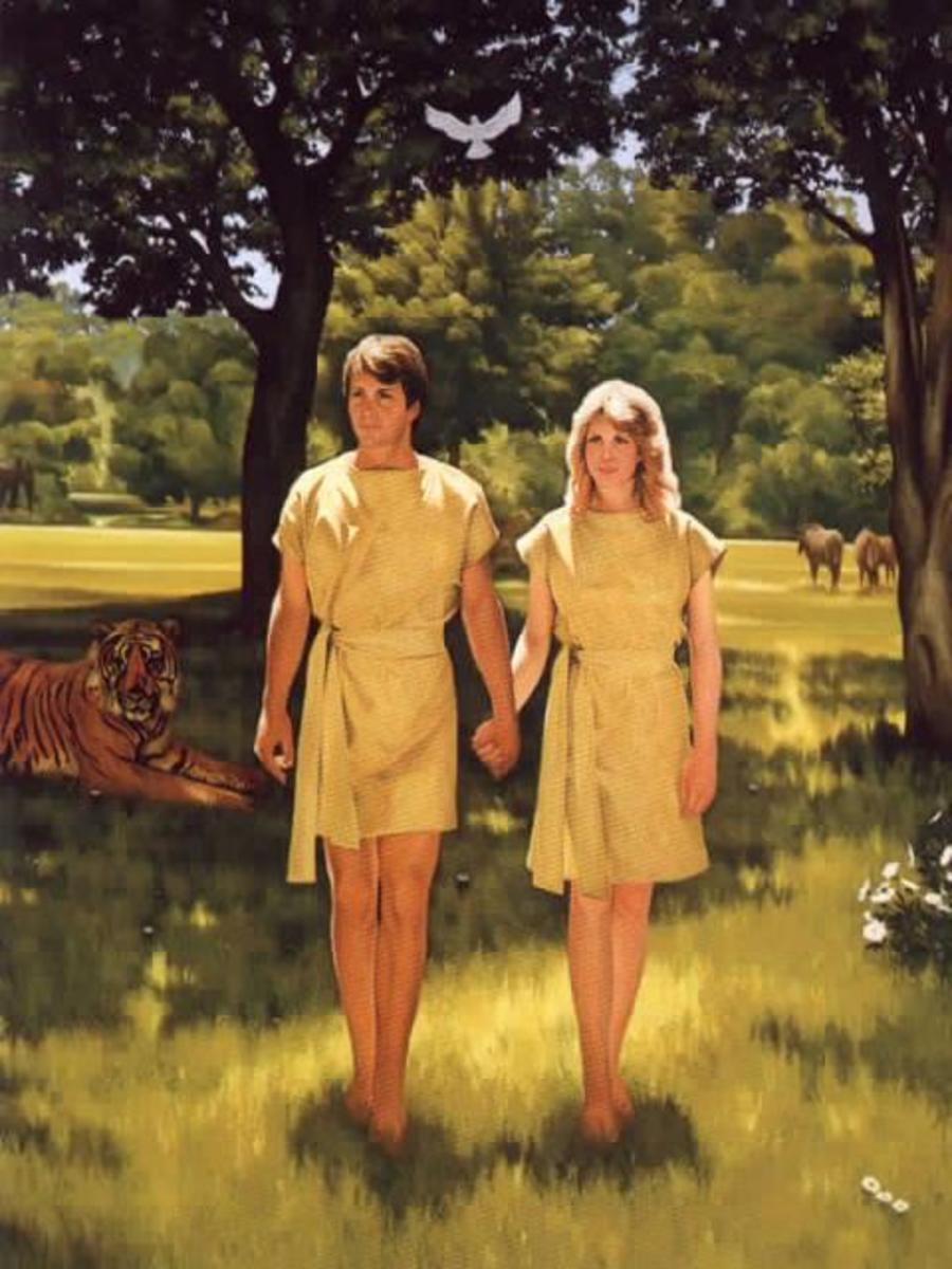 Adam and Eve Out of the Garden