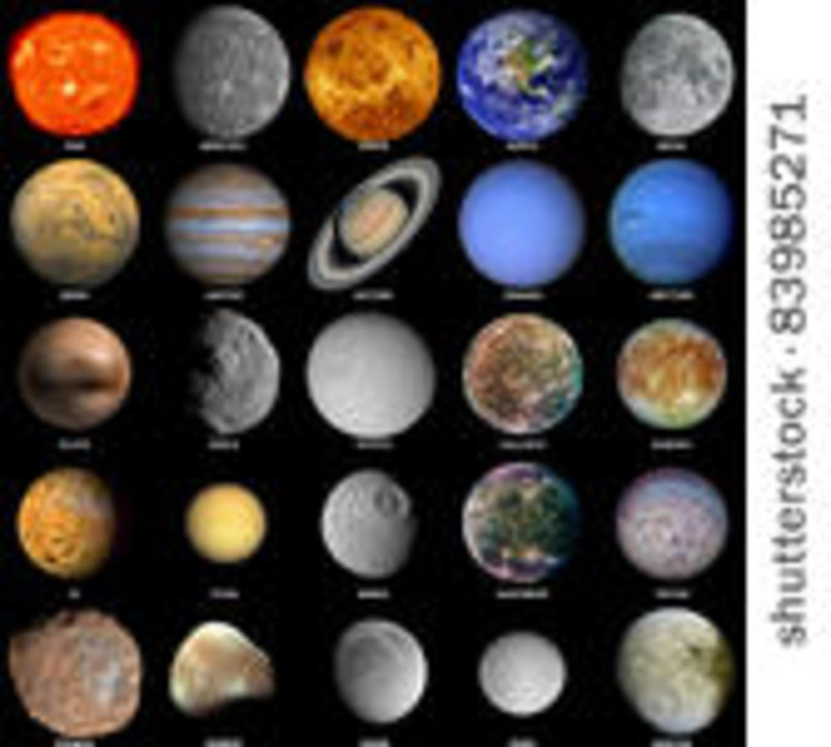 all of the planets named - photo #19