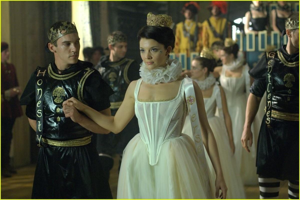 Anne Boleyn - Scene from The Tudors
