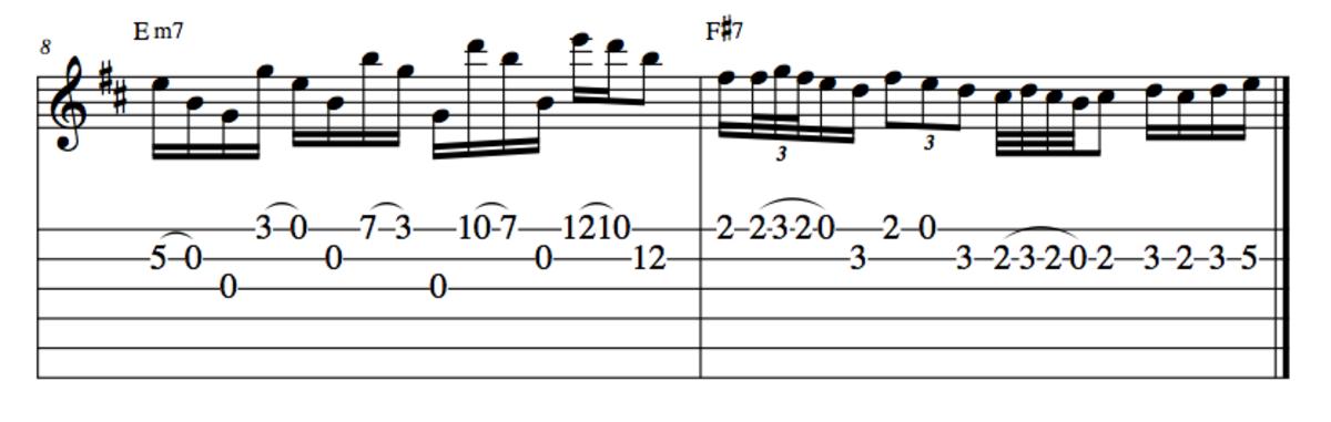 Don Felder's acoustic solo for Hotel California