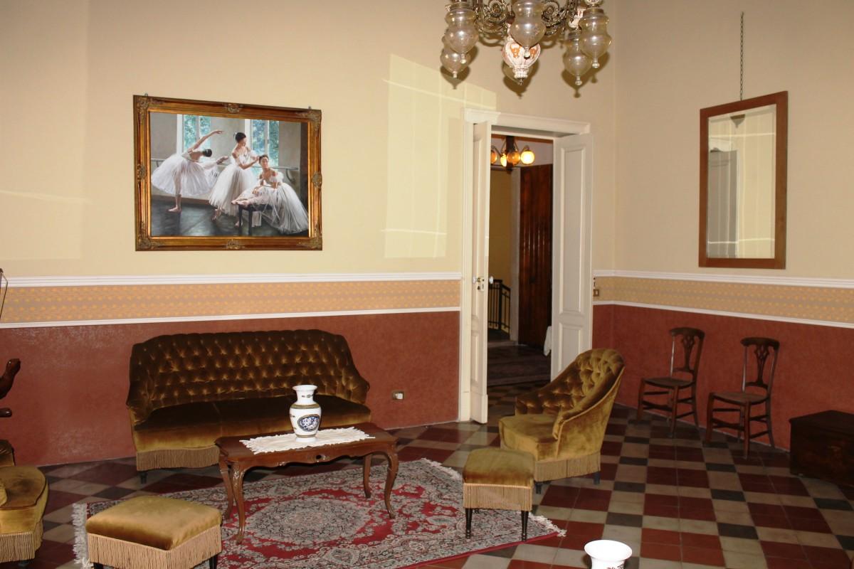 Lounge room, The Captain's Villa, Riposto, Sicily.