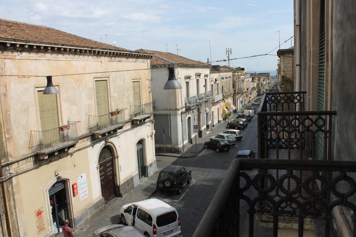 View from The Captain's Villa, Riposto, Sicily.