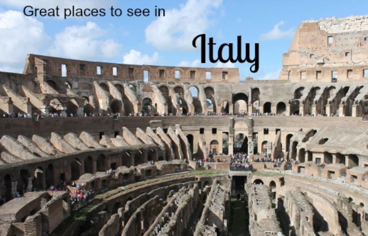 Rome's famous Colosseum.