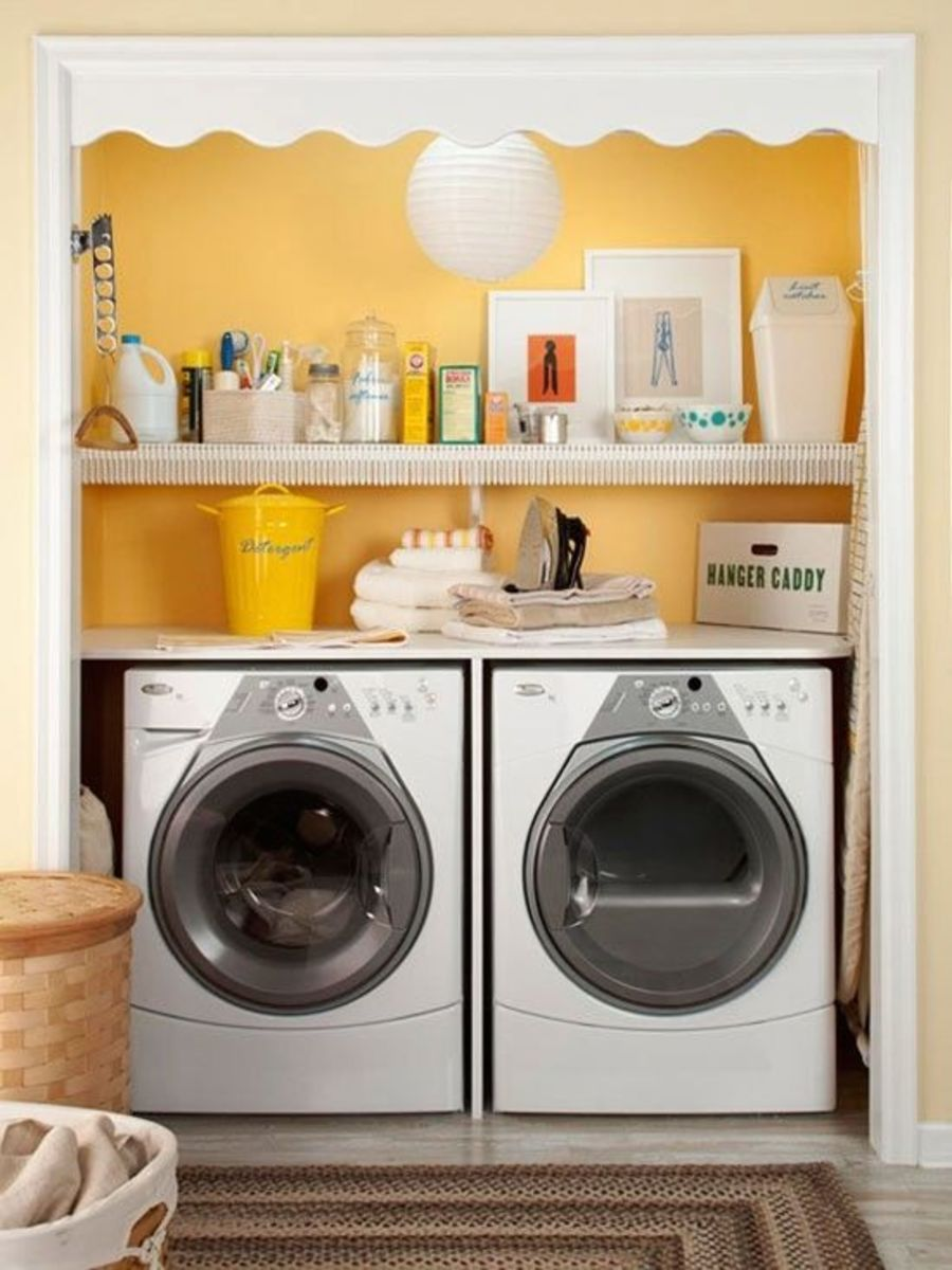 10 home niche ideas - Laundry Room