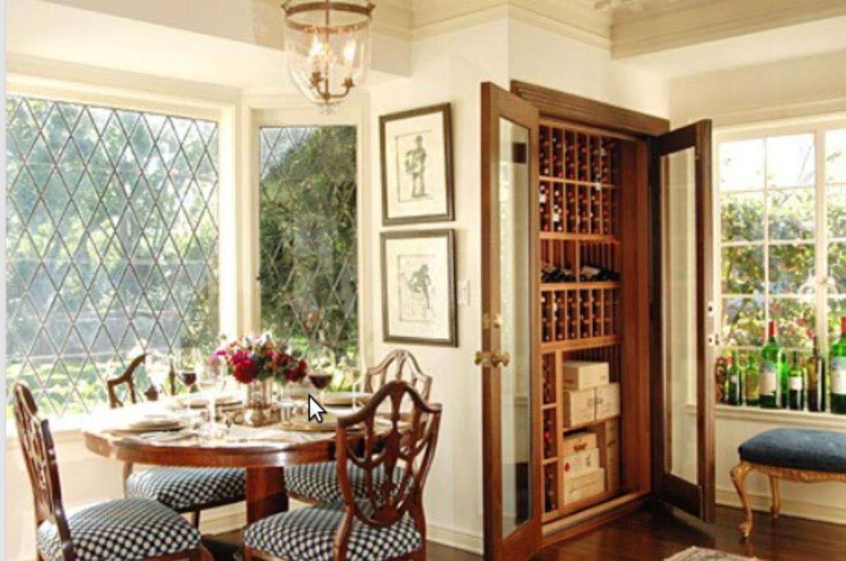 10 home niche ideas - Wine Bottles Storage