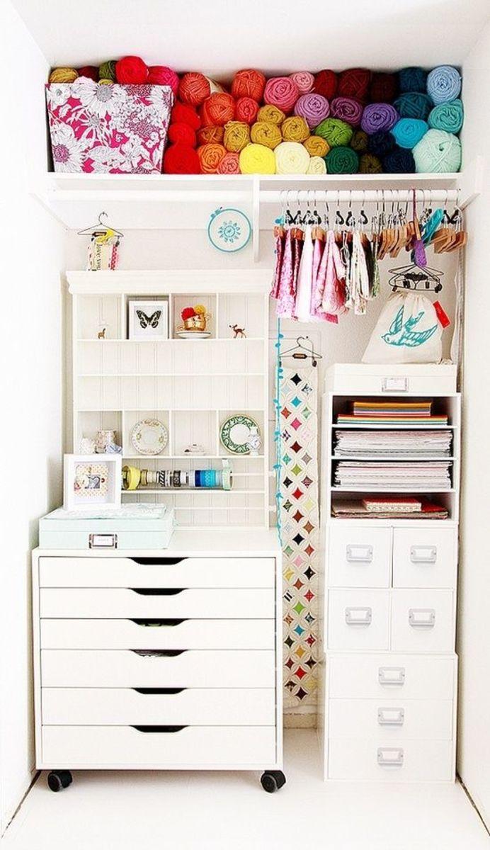 10 home niche ideas - Craft Nook