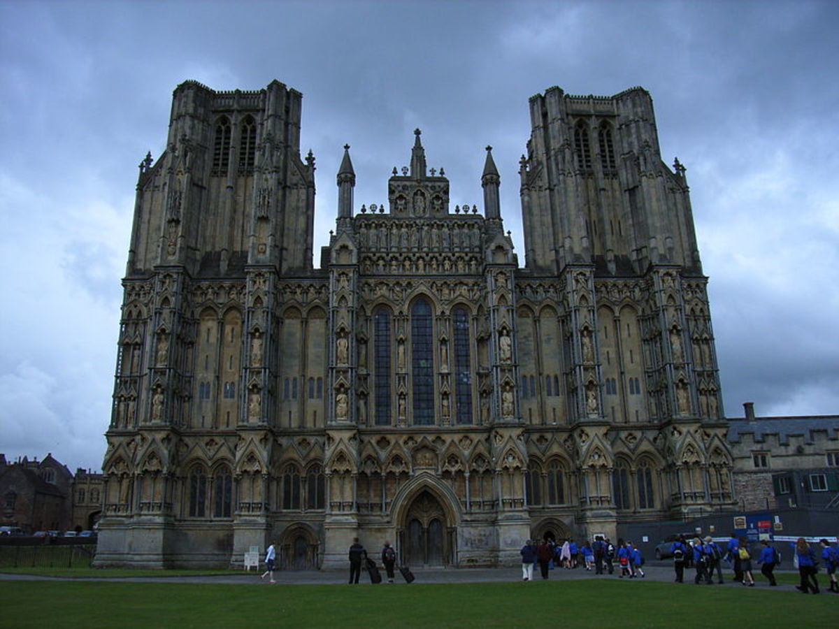 Wells Cathedral, England