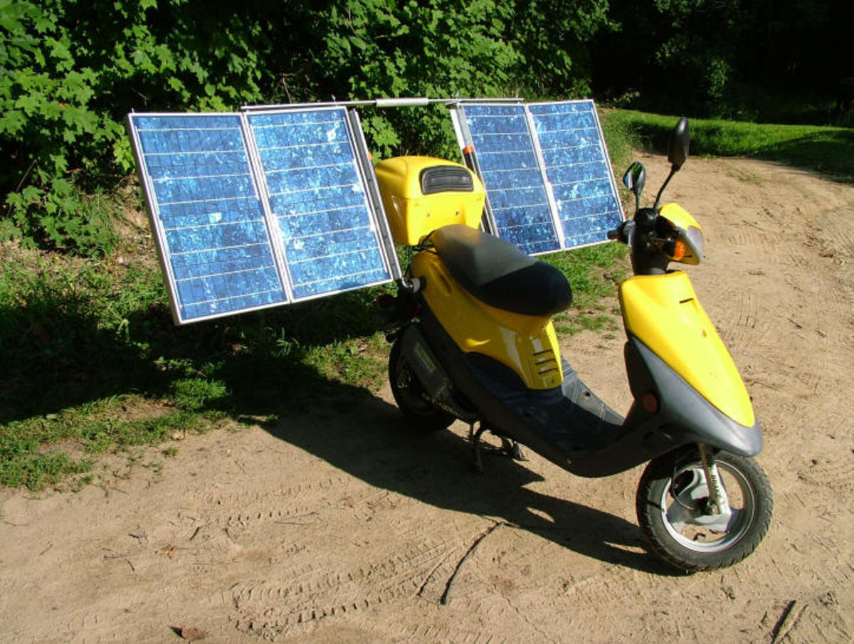 Don's Solar Scooter