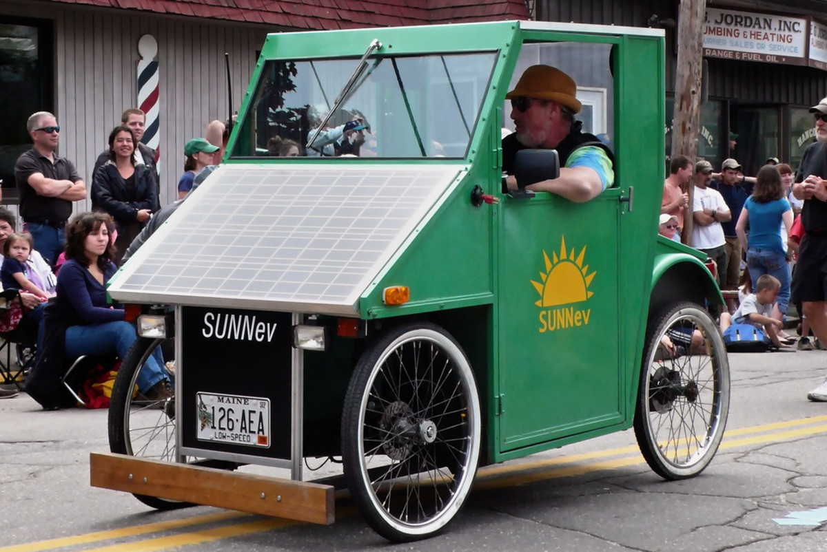 DIY Solar Car built from a kit