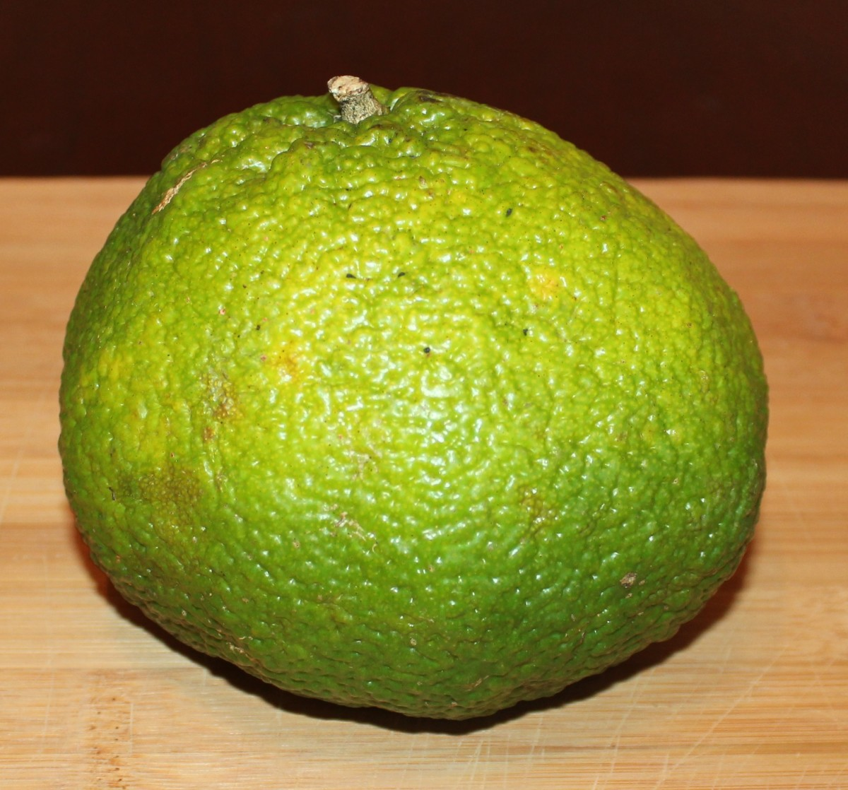 don't be fooled by the puckered, bumpy skin of tangelo fruit. inside they are extremely juicy and sweet.
