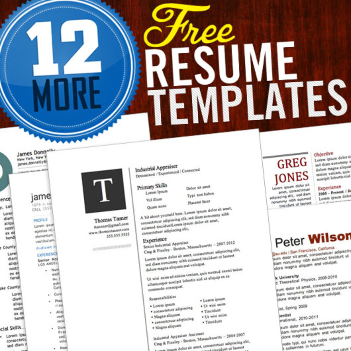 Free Microsoft Word Resume Templates  Hubpages