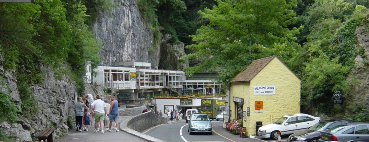 Cheddar Gorge Scenic View