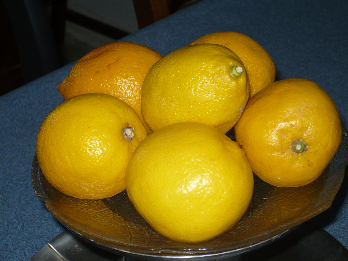 DIY ways to use lemonds to improve your own health.