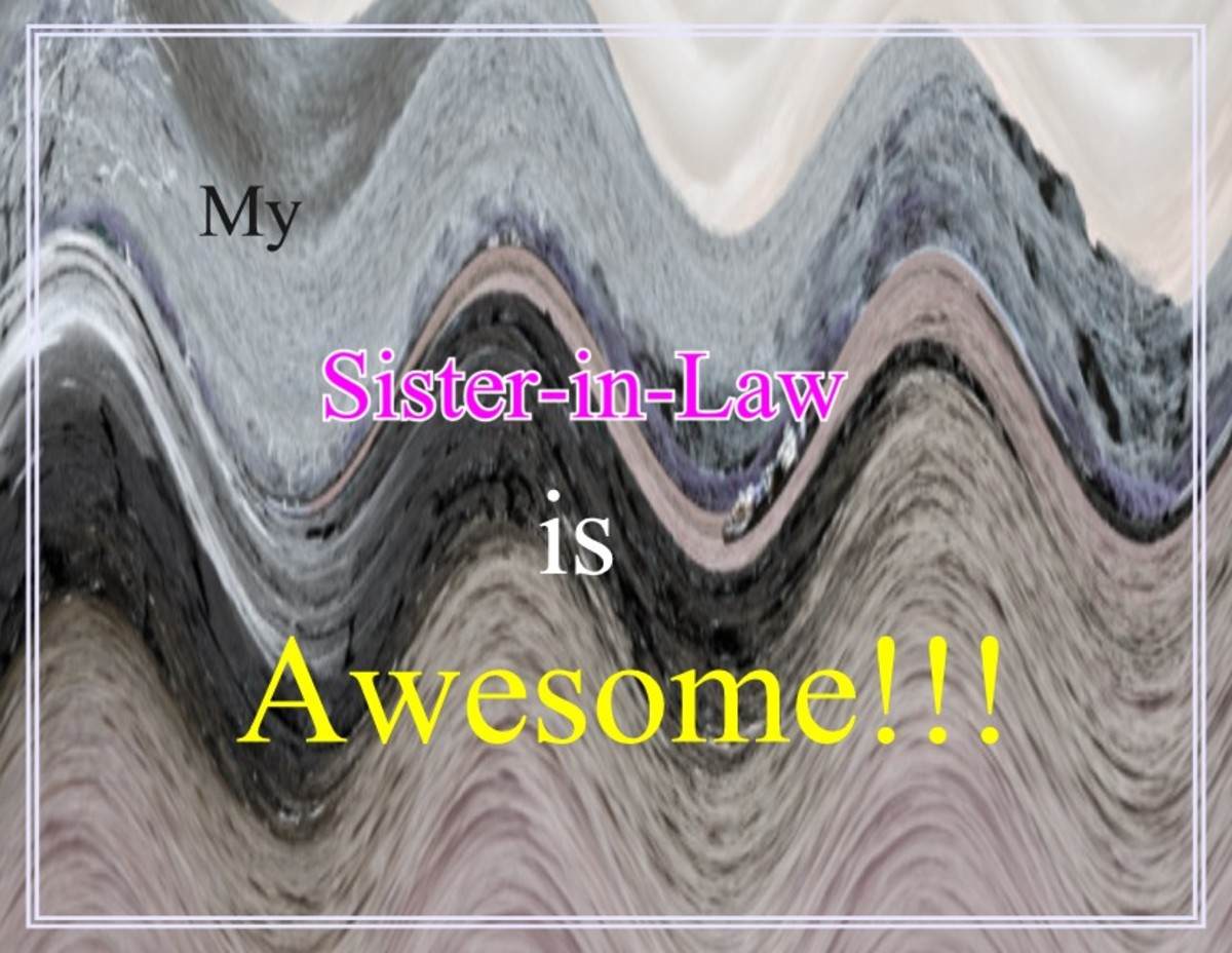 Poems For my Sister in Law Poems on Sister in Law For