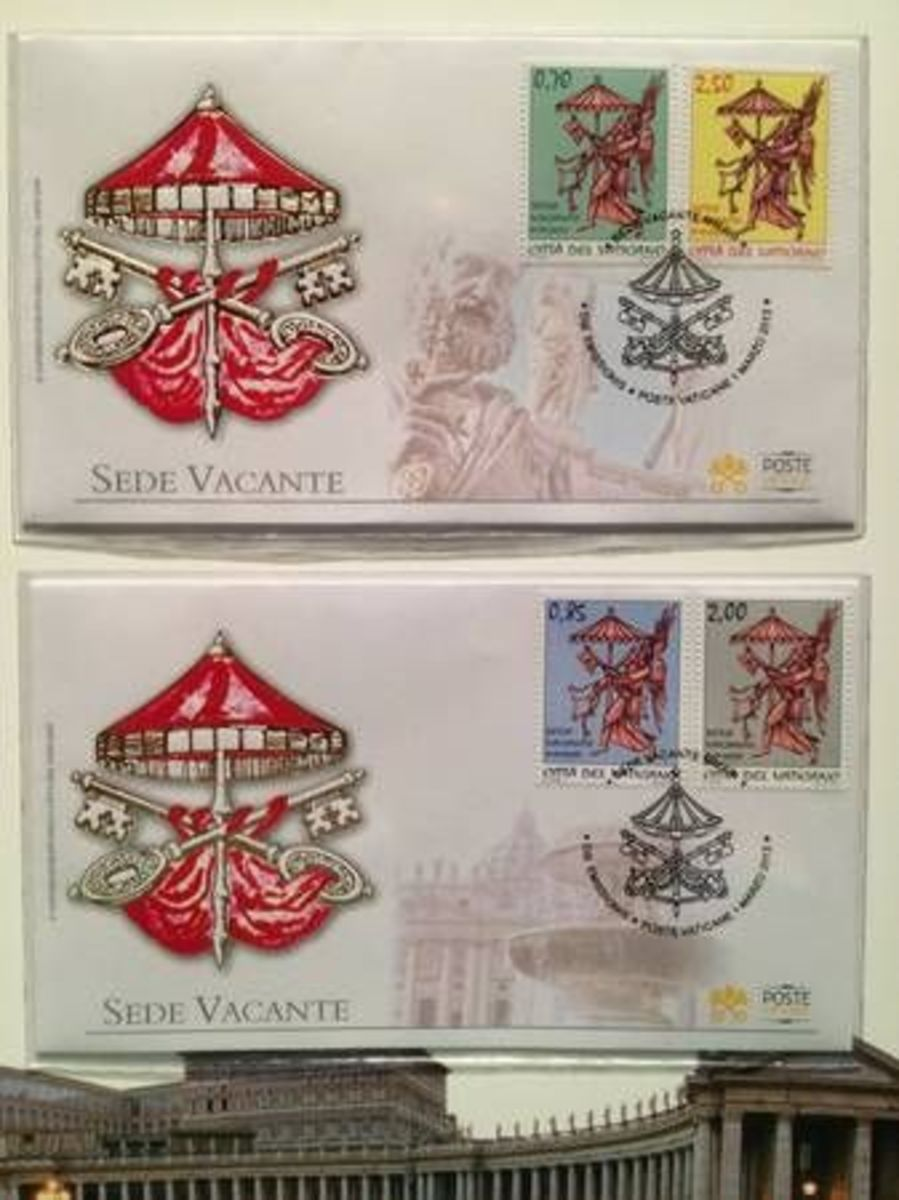 Official Vatacan Postal Stamps
