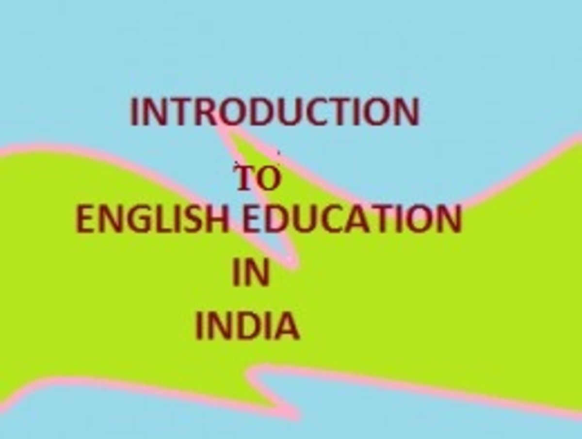 Introduction to English Education in India