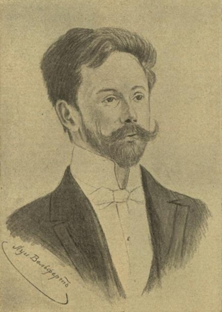 Portrait of Scriabin