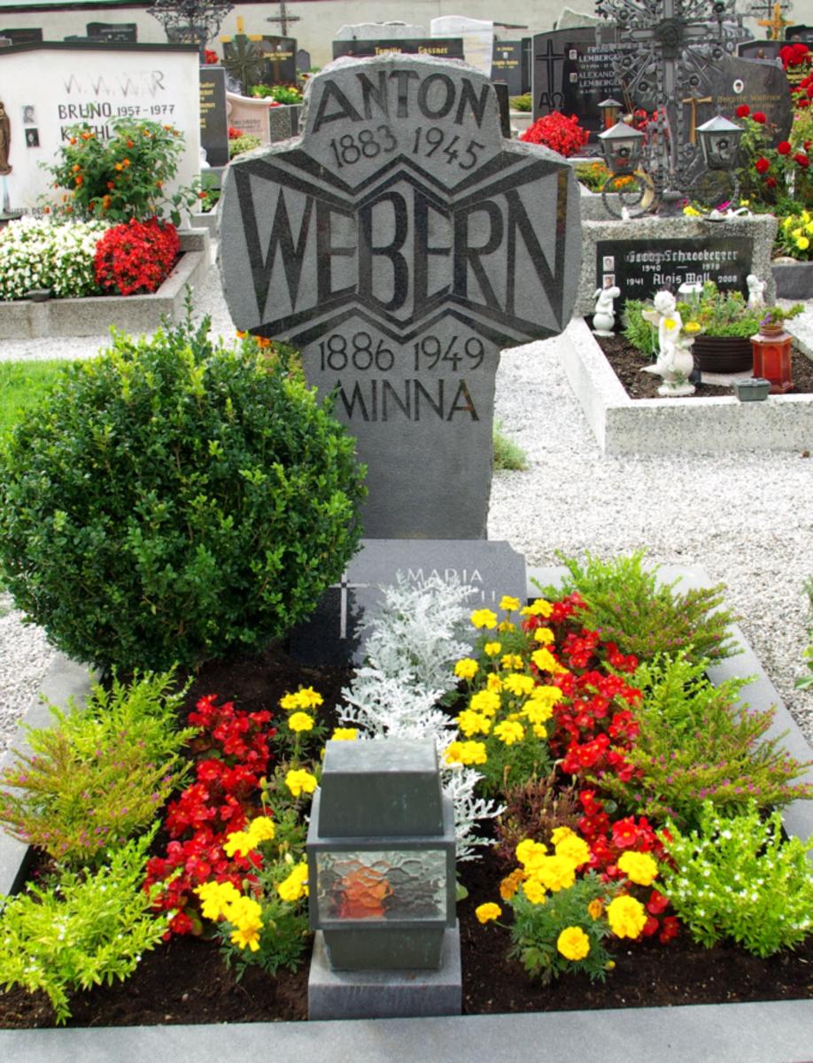 Grave of Anton Webern
