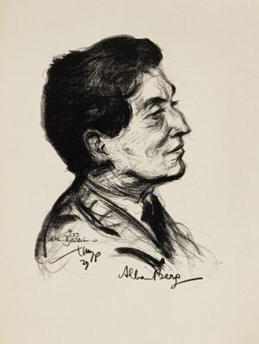 Portrait of Berg