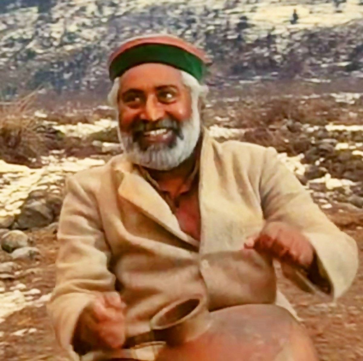 """""""Chappa chappa charkha chale,"""" a melodious Punjabi folk song from Maachis."""