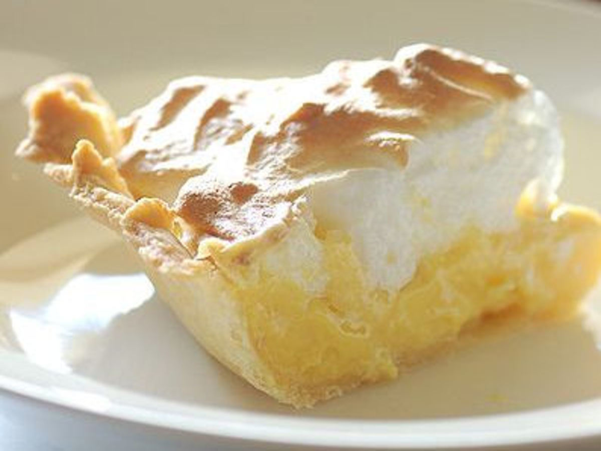 Yummy Lemon Meringue Pie!