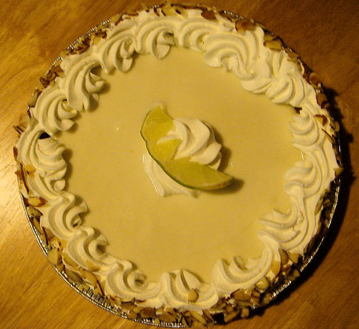 Original style key lime pie from Publix, a Florida grocery store chain.