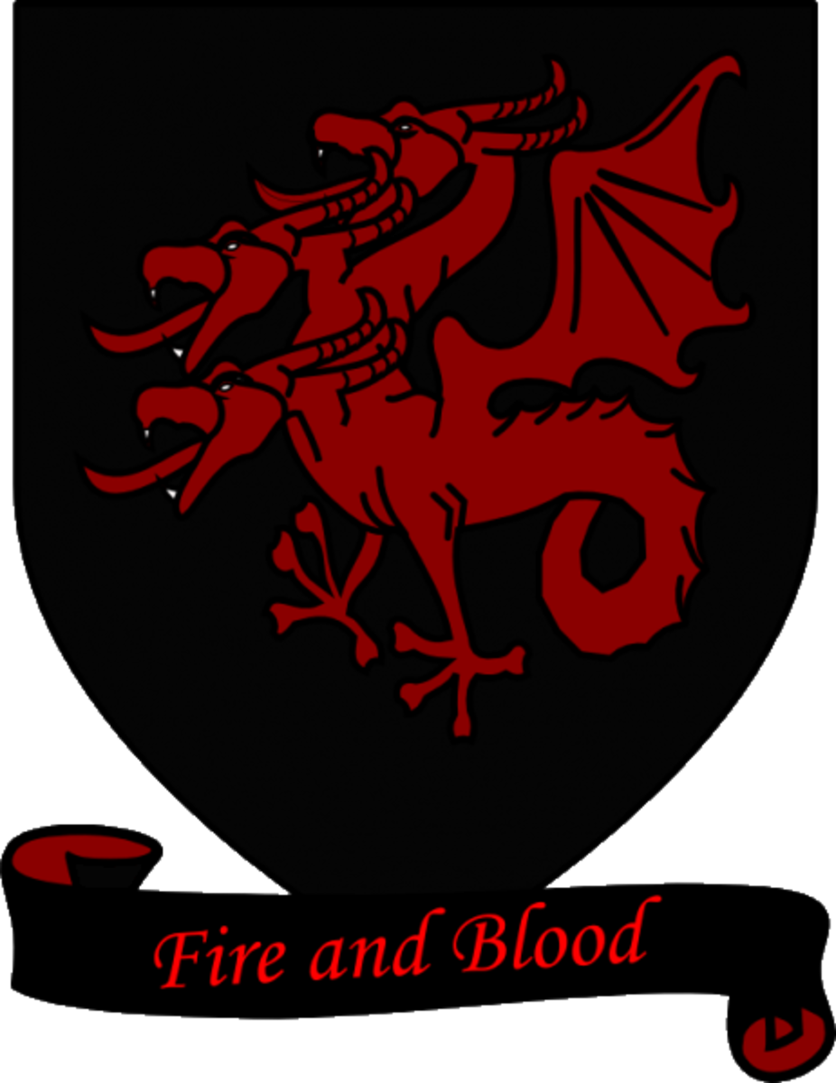 Coat of Arms of House Targaryen.