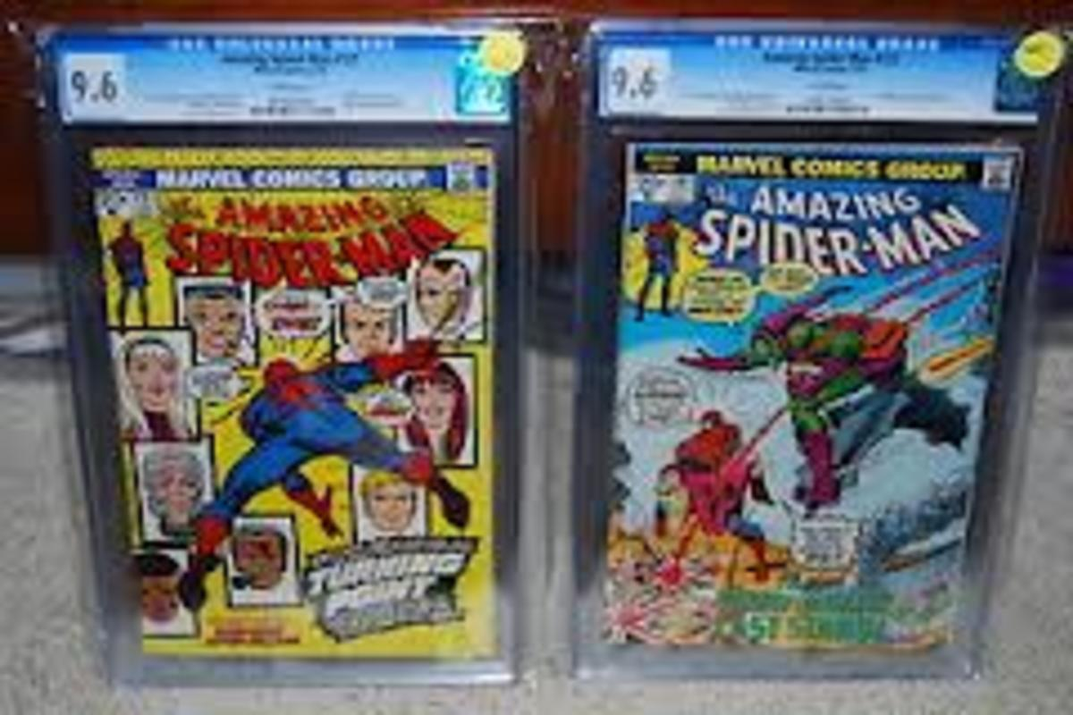 Two nice graded copies of these key issues.