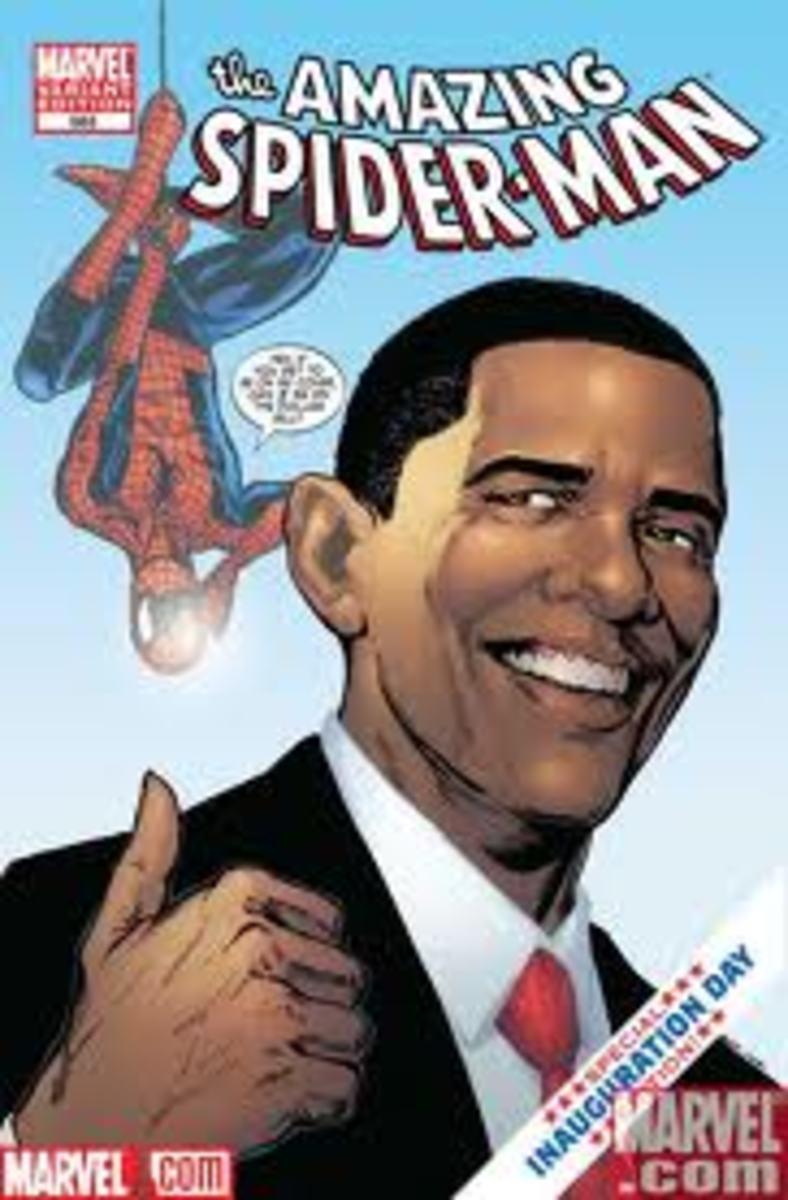 Peter meets the Prez
