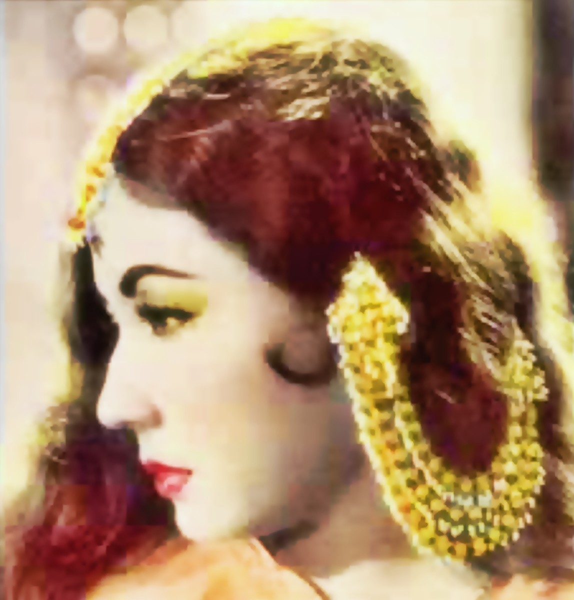 Meena Kumari in Pakeezah : This number is one of the large number od thumris recorded for this movie