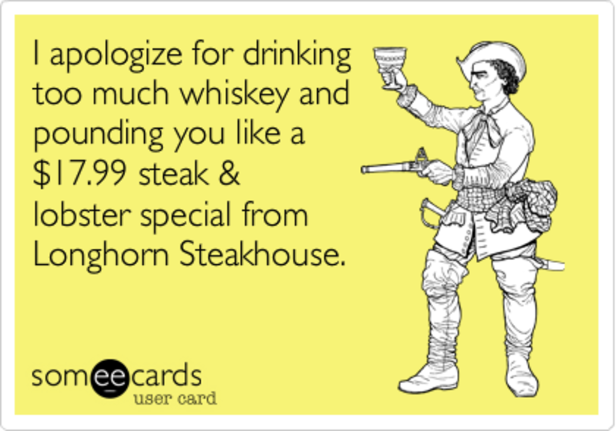 How To Apologize For Drinking Being Drunk And Stupid Hubpages