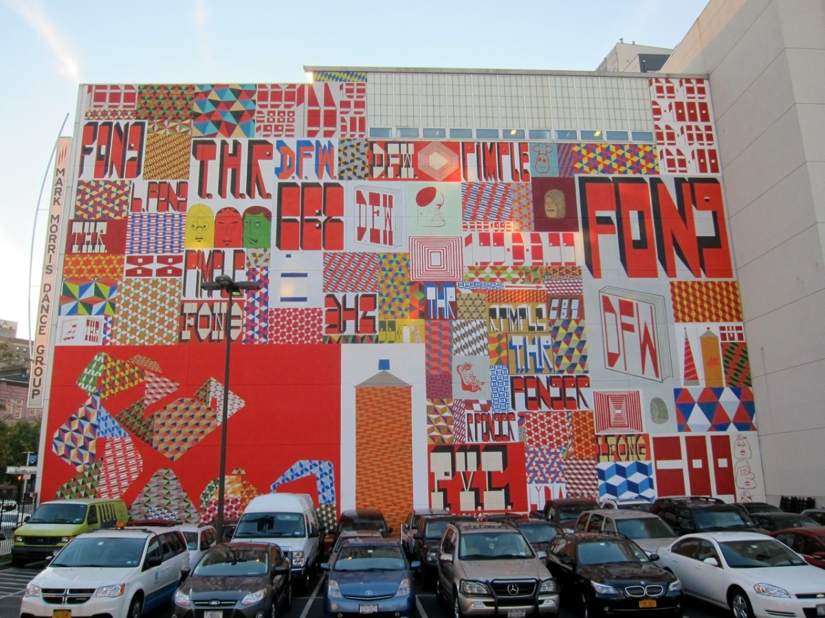 Street Art Mural by Barry McGee