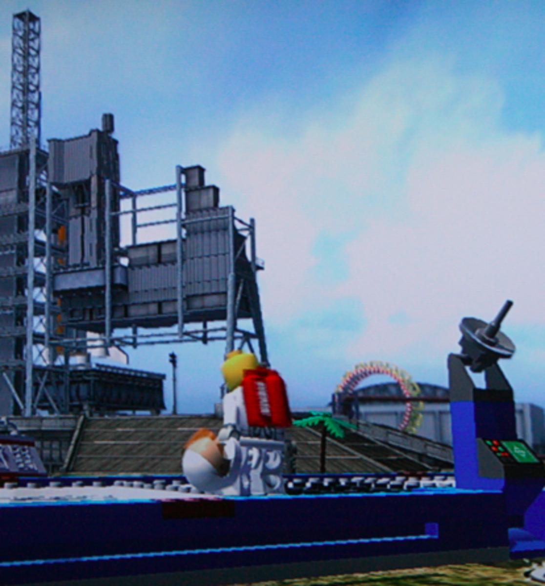 LEGO City Undercover walkthrough: Apollo Island Collectibles