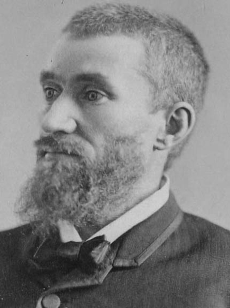 Charles Guiteau even looks crazy!