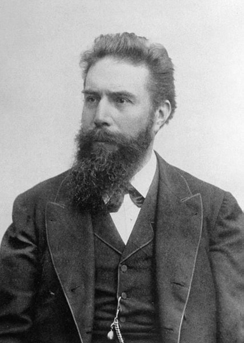 Wilhelm Röntgen in the 1890's.