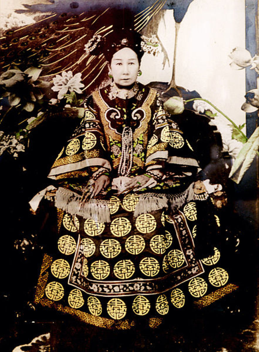 The Dowager Empress Cixi