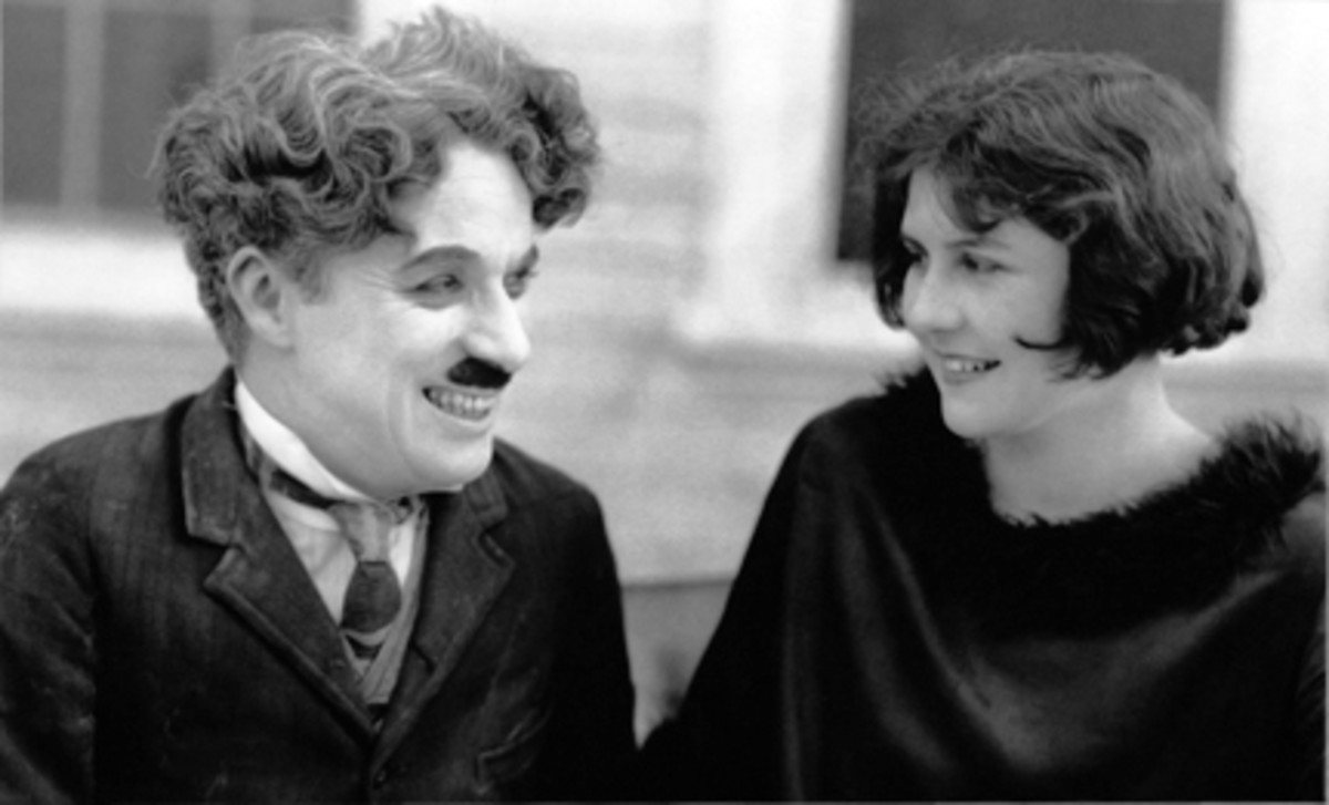 Charlie Chaplin and Lita Grey