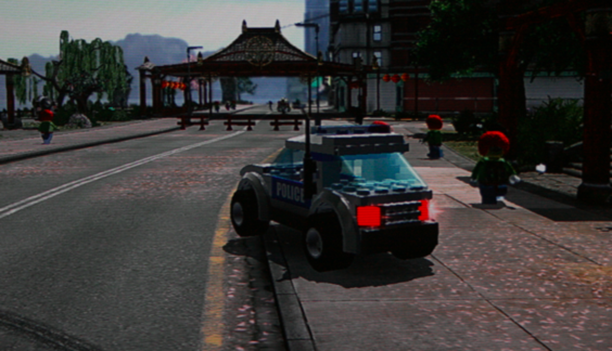 LEGO City Undercover walkthrough: Pagoda Collectibles