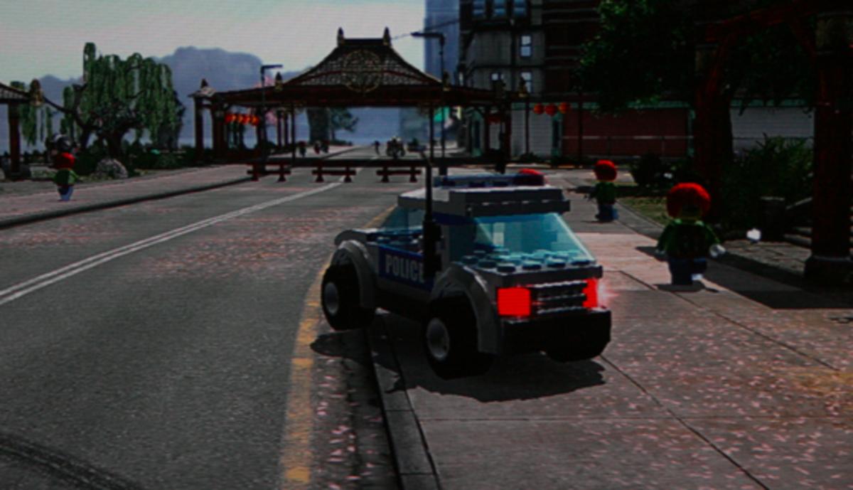 LEGO City Undercover walkthrough: Pagoda Collectibles