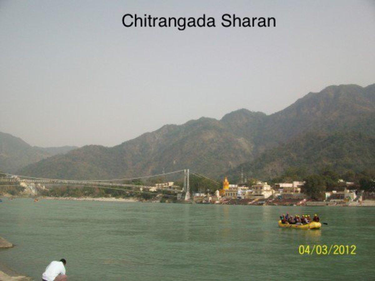 Travel destination, Rishikesh, India
