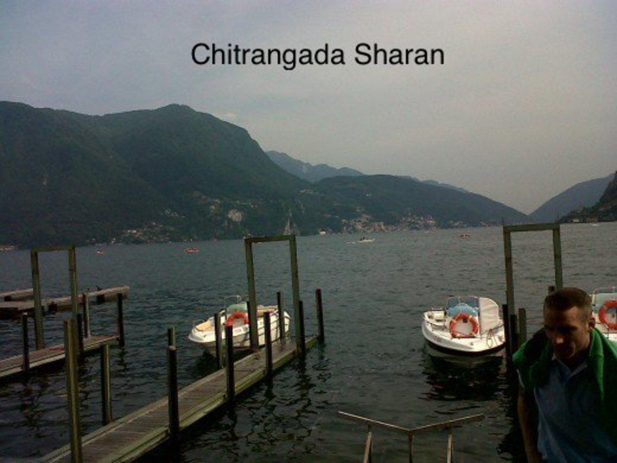 Travel destination, Lugano, Switzerland