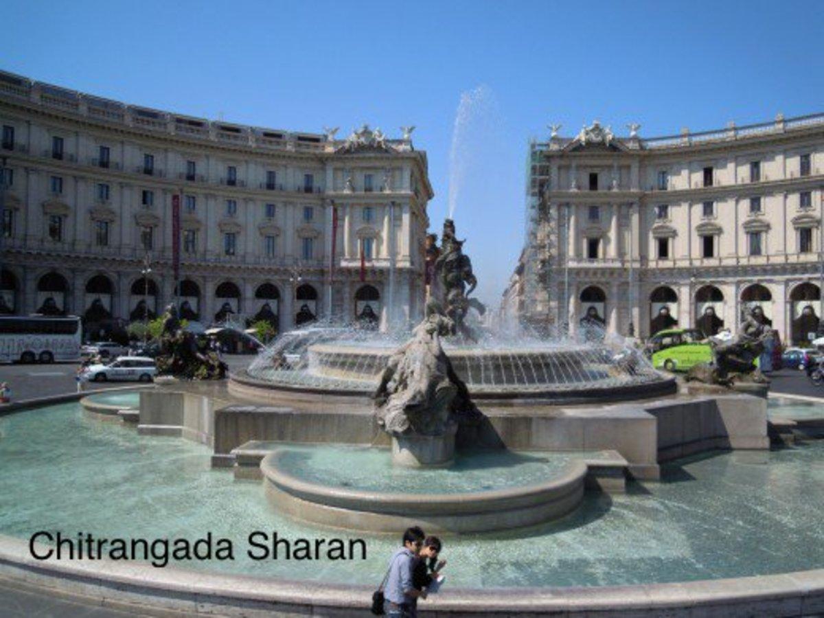 Travel destination, Rome, Italy