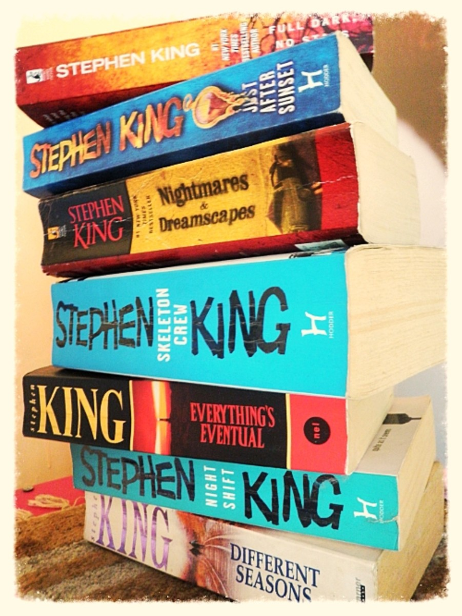 Books collections of short stories by Stephen King.