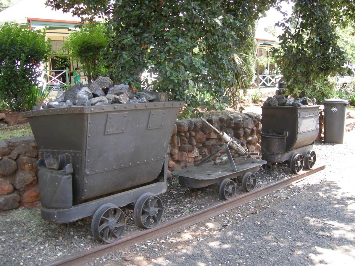 Mining in Pilgrim's Rest